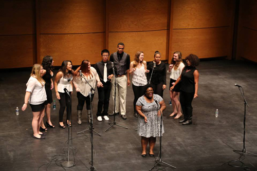 The Truth performs at Evening of a Cappella last Saturday.