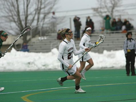Laura Kleiber '14 went from not being recruited heavily to First Team All-Patriot League.