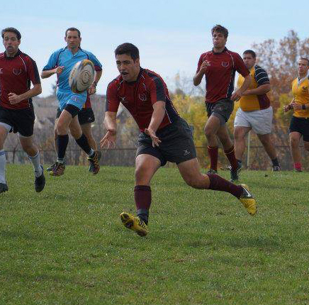 Timeout with.... Rugby Inside Center John Walker '17