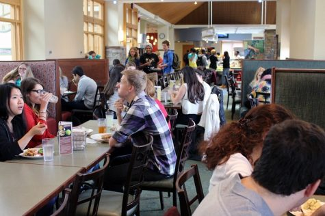 The new proposed scheduling policy is intended, among many things, to ease congestion of dining halls during the lunch hour.