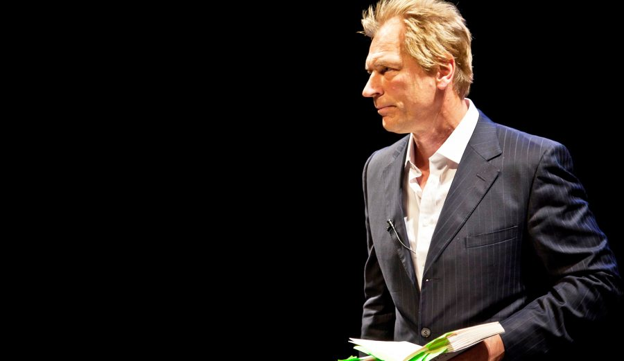 Julian+Sands+reading+from+%E2%80%9CVarious+Voices+of+Harold+Pinter%E2%80%9D+at+the+Williams+Center+for+the+Arts.+%5BPhoto+courtesy+of+Williams+Center%5D
