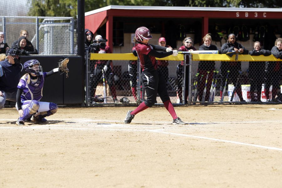 Prepping+for+the+playoffs%3A+Softball+team+collects+series+win+against+Holy+Cross