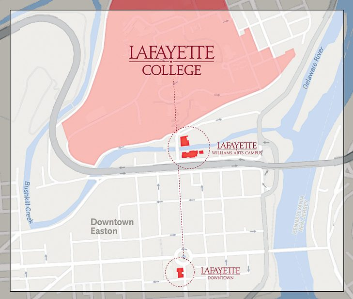 Lafayette+Colleges+extension+into+downtown+Easton.+%28Courtesy+of+Lafayette+College%29