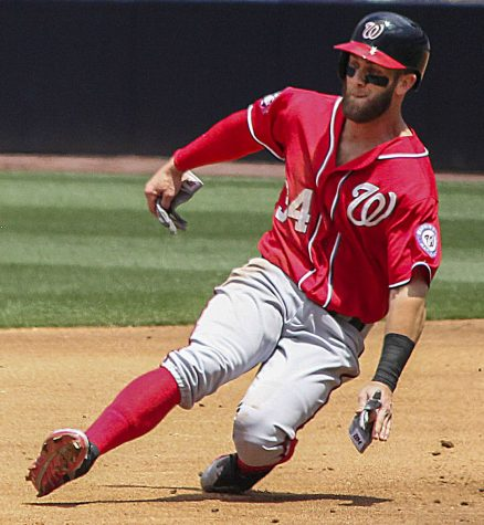 Bryce Harper is one of the few recognizable stars in the MLB (Courtesy of Wiki Commons).