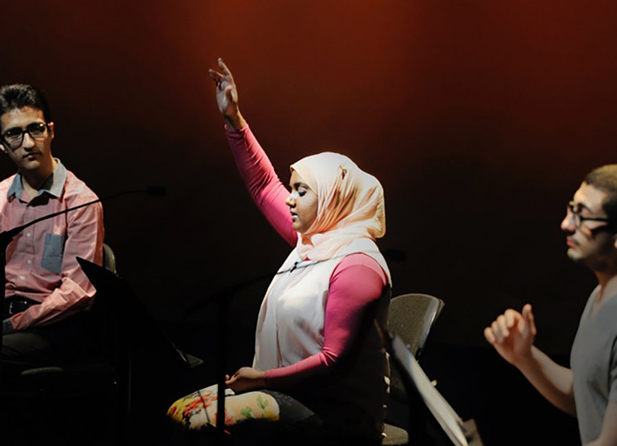 This+event+was+meant+to+shed+light+on+the+experiences+of+Muslims+in+America.+Photo+Courtesy+of+Christina+Varhavskaya