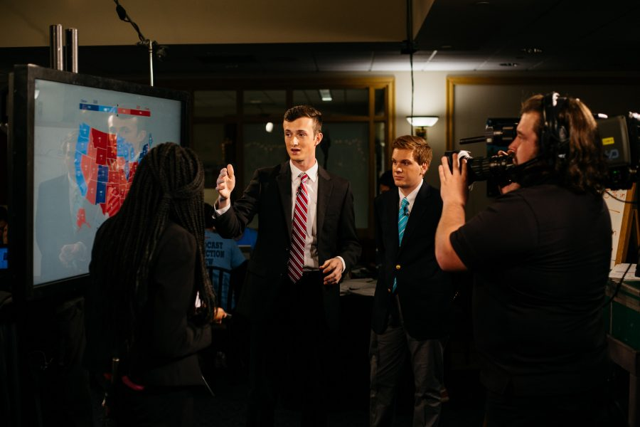 Election+Night+Broadcast+adds+to+their+honors.+Photo+Courtesy+of+Clay+Wegrzynowicz