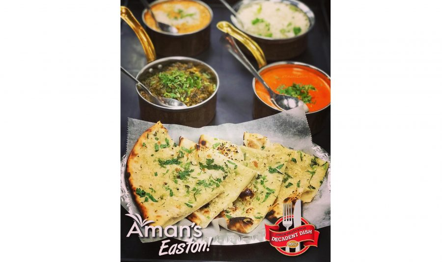 The+owners+of+Amans+look+forward+to+becoming+part+of+the+Easton+community.+%28Photo+courtesy+of+Amans+Indian+Bistro%29