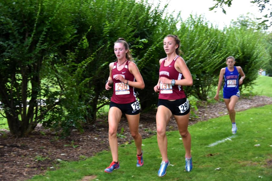 Mens+and+womens+cross+country+teams+both+earned+eighth+place+out+of+ten+at+the+Patriot+League+Championships.+%28Photo+courtesy+of+Athletic+Communications%29