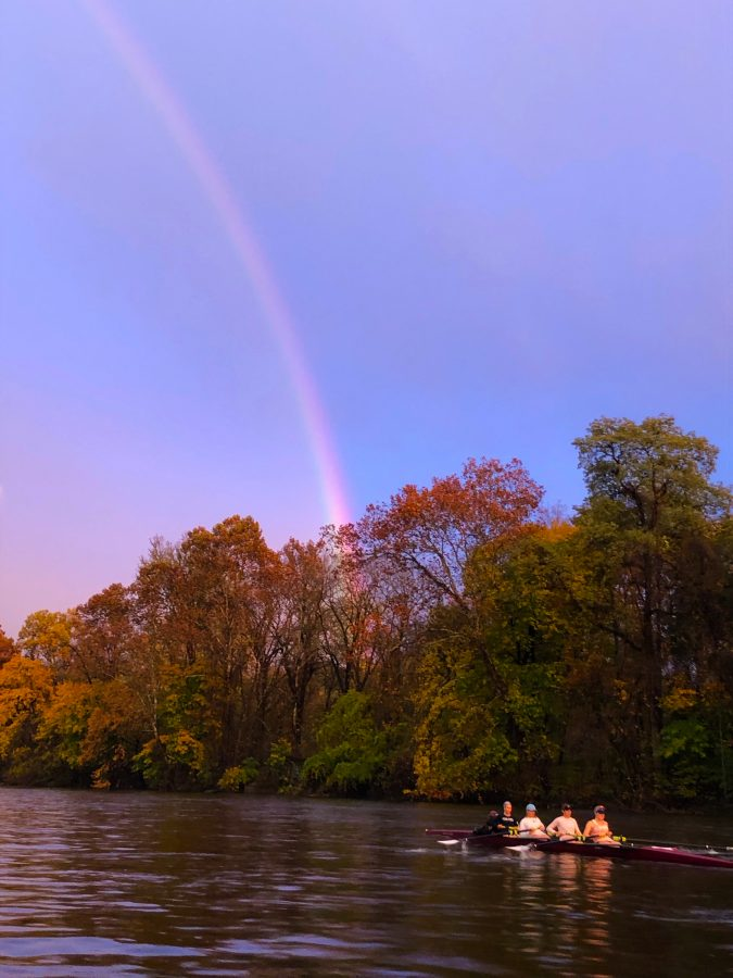 Club+crew+welcomed+over+40+recruits+to+campus+from+Row+New+York%2C+a+nonprofit+organization+which+provides+rowing+access+and+strong+academics+to+underprivileged+students.+%28Photo+courtesy+of+Derek+Richmond%29