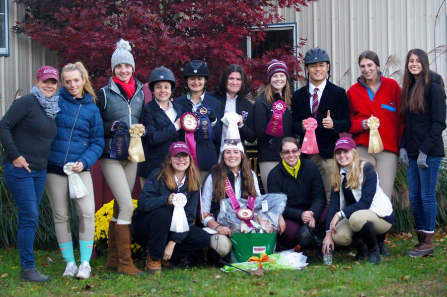 The+team+finished+two+points+out+of+first+place+in+their+weekend+show.+%28Photo+courtesy+of+Kelly+Meyers%29