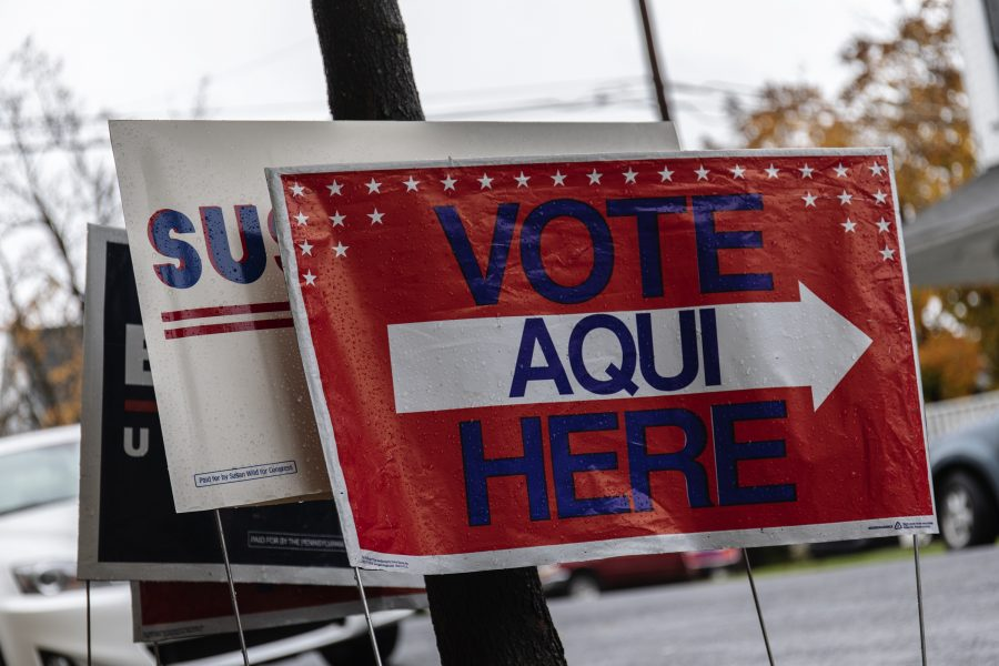 Voter+turnout+and+early+voting+amongst+people+ages+18+to+29+increased+from+2014.+%28Photo+by+Elle+Cox+21%29