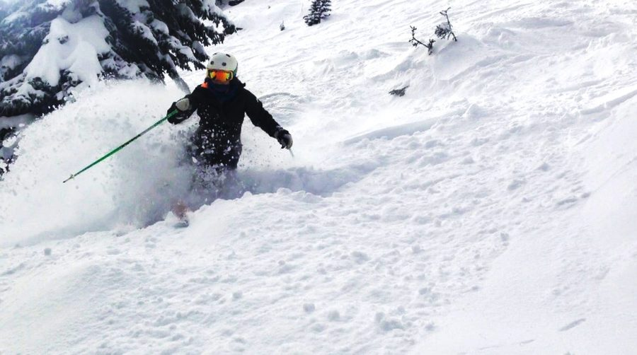 Born+into+the+ski+culture+of+Colorado%2C+Erin+Coyne+19+began+skiing+at+just+two+years+old.+%28Photo+courtesy+of+Jack+Coyne%29
