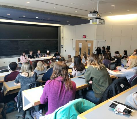 PASA board members and college administrators came together to educate students on sexual assault resources on campus.(Photo by Kathryn Kelly 19)