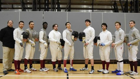 The team posted a 3-2 record at the MACFA round-robin event. (Photo courtesy of Athletic Communications)
