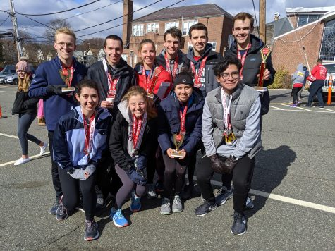 The running club will compete in a half marathon in April. (Photo courtesy of running club)