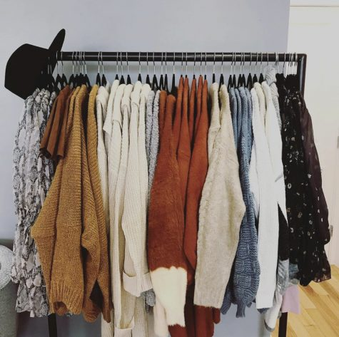 Eastons newest shopping experience, Not Your Sisters Closet Boutique, sells a variety of clothing items including sweaters, jumpsuits and dresses. (Photo courtesy of Not Your Sisters Closet Boutique Instagram)