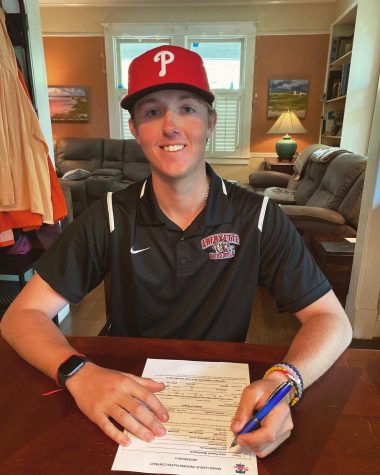 Lafayette pitcher JP Woodward signs with the Philadelphia Phillies
