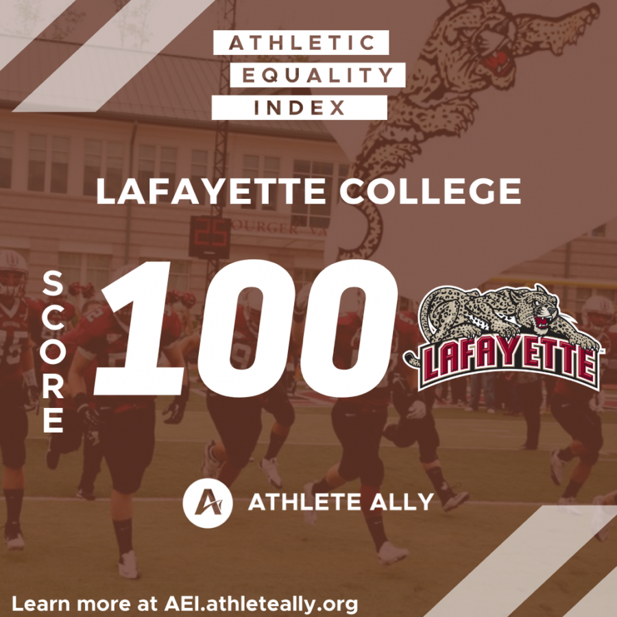 Lafayette+earned+a+higher+score+than+rival+Lehigh+on+the+Athletic+Equality+Index.+%28Photo+courtesy+of+Eva+Kaplan+21%29
