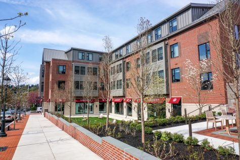 Opened in Fall 2020, the McCartney Dorms were the keystone project of the first phase of expansion outlined in the Colleges Strategic Direction to grow the student body. (Photo by Caroline Burns 22)