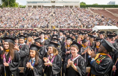 The Commencement Ceremony for the graduating class of 2019. (Photo courtesy of Lafayette News).