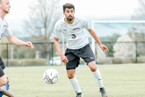 Nick Hazel ranked 46th in TopDrawerSoccer's Men's National Top 100 ranking. (Photo courtesy of Athletic Communications)