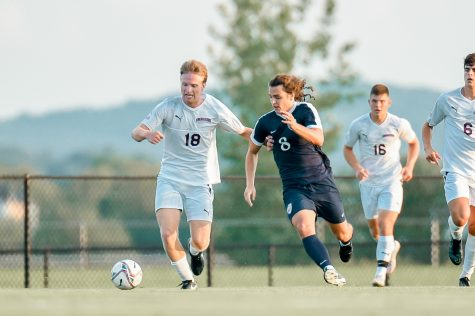 Mens soccer victorious against Drexel in their first home game of the season. (Photo courtesy of Athletic Communications)