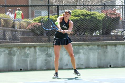 The Lafayette tennis teams compete in back-to-back invitationals. (Photo courtesy of Athletic Communications)