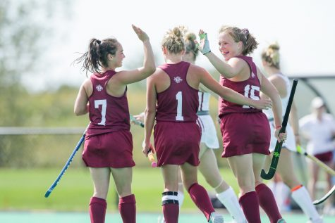 Lafayette field hockey adds two back-to-back home game wins against Colgate Raiders on Saturday and the Fairfield on Sunday. (Photo courtesy of Athletic Communications)