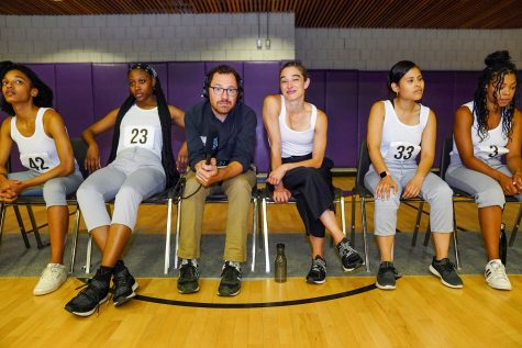 The Running Show features dancers from local high schools and colleges who spend a purposefully intense time learning choreography. (Photo courtesy of Hollis Ashby)