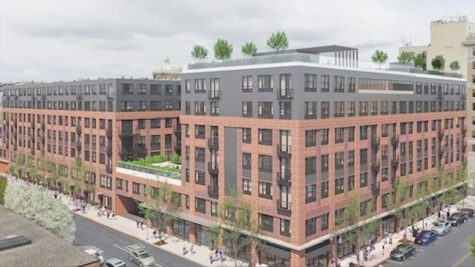 The Marquis, a 40,000 square foot mixed-use complex and one of four large development projects in Easton, would replace the Pine Street Parking Garage. (Photo courtesy of Pennsylvania News Today)